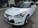 Used 2013 Hyundai Veloster LOADED 6-SPEED MANUAL 4 PASSENGER 1.6L - DOHC.. LEATHER TRIM.. HEATED SEATS.. NAVIGATION.. BACK-UP CAMERA.. BLUETOOTH.. for sale in Bradford, ON