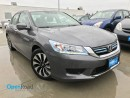 Used 2014 Honda Accord Hybrid Touring Hybrid A/T Local Bluetooth Leather Sunroof Navi Line Watch Cam for sale in Port Moody, BC