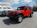 Used 2016 Jeep Wrangler UNLIMITED SPORT for sale in Quesnel, BC