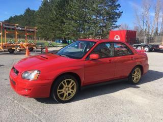 Used 2004 Subaru Impreza WRX w/Moonroof for sale in Scarborough, ON
