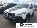 Used 2016 Jeep Cherokee Trailhawk|4x4|Navi|Backup Cam|Bluetooth| for sale in Brampton, ON