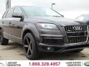 Used 2015 Audi Q7 3.0T quattro Sport S-Line - Local Alberta Trade In | No Accidents | Navigation | Multi-View Camera System | Parking Sensors | 4 Zone Climate Control with AC | Heated and Cooled Front Seats | Heated Rear Seats | Heated Steering Wheel | BOSE Audio | Factory for sale in Edmonton, AB
