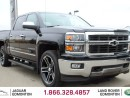 Used 2014 Chevrolet Silverado 1500 LTZ - Local Edmonton Trade In | No Accidents | Heated/Cooled Front Seats | Leather Interior | Heated Steering Wheel | Bluetooth | Dual Zone Climate Control with AC | Box Cover | Power Adjustable Pedals | Running Boards | 22 Inch Wheels | Navigation | Back for sale in Edmonton, AB
