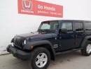 Used 2013 Jeep Wrangler UNLIMITED SPORT for sale in Edmonton, AB
