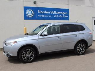 Used 2015 Mitsubishi Outlander GT for sale in Edmonton, AB