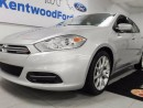 Used 2013 Dodge Dart SXT 2.0L FWD in a flashy bullet silver for sale in Edmonton, AB