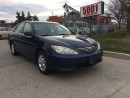 Used 2005 Toyota Camry LE,4CYL,MAG,S/ROOF,SAFETY 3YEARS WARRANTY INCLUDED for sale in North York, ON