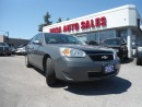 Used 2007 Chevrolet Malibu 4DR AUTO NO ACCIDENT LOW KM  PW PL PM CRUIZESAFETY for sale in Oakville, ON