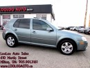Used 2010 Volkswagen City Golf 2.0L Manual Sunroof Certified 2YR Warranty for sale in Milton, ON