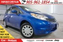 Used 2016 Nissan Versa Note PRE-CONSTRUCTION SALE| SV| REAR CAM| SIRIUS XM| for sale in Mississauga, ON