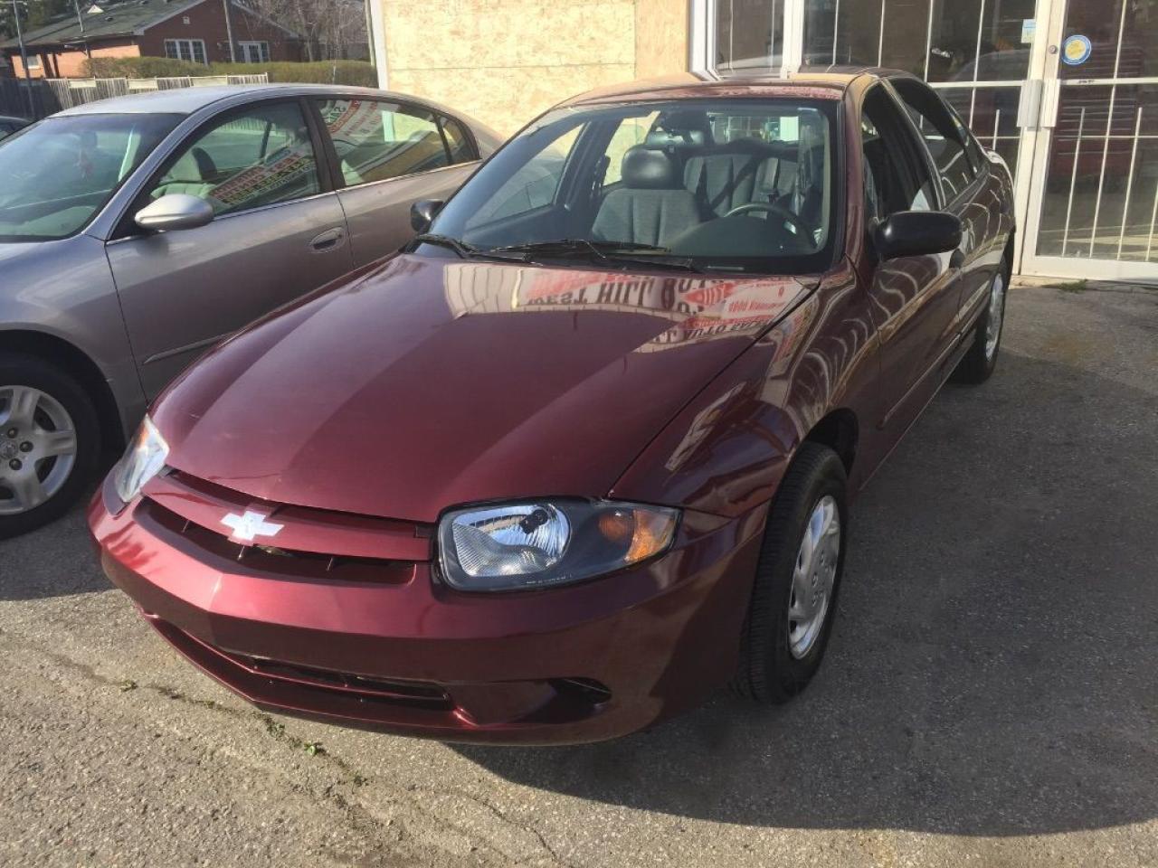 Photo of Burgundy 2003 Chevrolet Cavalier