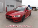 Used 2010 Mitsubishi LANCER DE 4D SEDAN 2.0L for sale in Calgary, AB