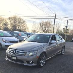 Used 2009 Mercedes-Benz C350 PRE-OWNED CERTIFIED- True Pride of Ownership  A++ for sale in Scarborough, ON
