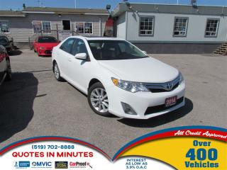 Used 2014 Toyota Camry XLE | LEATHER | ROOF | NAV | FULLY LOADED for sale in London, ON