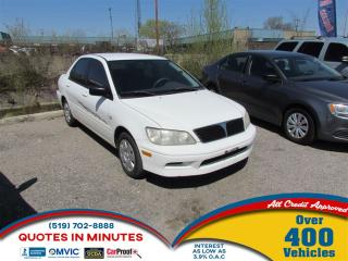 Used 2003 Mitsubishi Lancer ES | AS-IS SPECIAL for sale in London, ON