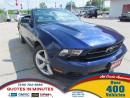 Used 2011 Ford Mustang CONVERTIBLE | LEATHER | SUMMER READY for sale in London, ON