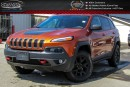 Used 2016 Jeep Cherokee Trailhawk|4x4|Navi|Backup Cam|Bluetooth|Activ Drive|17