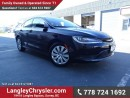Used 2016 Chrysler 200 LX ACCIDENT FREE w/ POWER WINDOWS/LOCKS, KEYLESS GO & A/C for sale in Surrey, BC