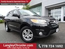 Used 2012 Hyundai Santa Fe GL 3.5 ACCIDENT FREE w/ AWD, HEATED FRONT SEATS & BLUETOTH for sale in Surrey, BC
