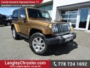 Used 2011 Jeep Wrangler 70th Anniversary ACCIDENT FREE w/ 4X4, 6-SPEED MANUAL & LEATHER for sale in Surrey, BC