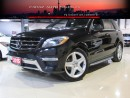 Used 2015 Mercedes-Benz ML 350 AMG|DISTRONIC|360CAM|NAVI|BLIUNDSPOT|LOADED for sale in North York, ON