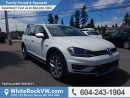New 2017 Volkswagen Golf Alltrack 1.8 TSI LEATHER UPHOLSTERY, POWER MOON-ROOF, RAIN SENSING WIPERS & NAVIGATION for sale in Surrey, BC