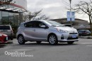 Used 2013 Toyota Prius c 4dr Hatchback Navi, Bluetooth, Steering Wheel Audio Controls, Push Button Start, Power Windows for sale in Richmond, BC