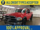 Used 2011 Dodge Ram 1500 CREW CAB*4WD*HEMI*FENDER FLARES*BACK RACK*PLASTIC BED LINER*REMOTE START*KEYLESS ENTRY*POWER WINDOWS/LOCKS/HEATED MIRRORS*FRONT TOW HOOKS* for sale in Cambridge, ON