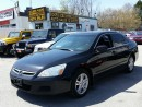 Used 2006 Honda Accord Sdn SE/SUNROOF/4 CYLINDERS for sale in Scarborough, ON