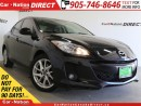 Used 2013 Mazda MAZDA3 GT| NAVI| LEATHER| SUNROOF| TOUCH SCREEN| for sale in Burlington, ON