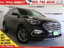 Used 2017 Hyundai Santa Fe Sport 2.4 SE| AWD| LEATHER| PANO ROOF| BACK UP CAMERA| for sale in Burlington, ON