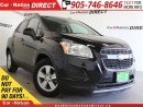 Used 2013 Chevrolet Trax 1LT| LOCAL TRADE| ONE PRICE INTEGRITY| for sale in Burlington, ON