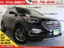 Used 2017 Hyundai Santa Fe Sport 2.4 SE| AWD| LEATHER| PANO ROOF| BACK UP CAMERA| for sale in Burlington, ON