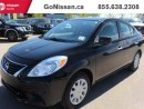 Used 2013 Nissan Versa Low Km's, auto Air!! for sale in Edmonton, AB