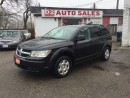 Used 2009 Dodge Journey SE/LOW KM/4 Cylinder Gas Saver/Certified for sale in Scarborough, ON