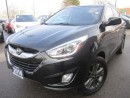 Used 2014 Hyundai Tucson GLS-Panorama sunroof-Certified for sale in Mississauga, ON