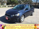 Used 2016 Chevrolet Sonic LT...LOW PAYMENTS AND LOW FUEL ECONOMY!!! for sale in Stoney Creek, ON