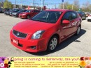 Used 2012 Nissan Sentra 2.0 SR...LOW PAYMENTS AND LOW FUEL ECONOMY!!! for sale in Stoney Creek, ON