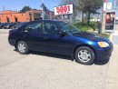 Used 2001 Honda Civic AUTO,SAFETY+3YEARS WARRANTY INCLUDED for sale in North York, ON