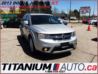 Used 2013 Dodge Journey R/T AWD+Heated Leather+Remote Start+Back Up Sensor for sale in London, ON