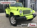 Used 2016 Jeep Wrangler Sahara|Leather|Nav|Heated Seats for sale in Edmonton, AB