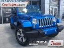 Used 2016 Jeep Wrangler Unlimited Sahara|Leather|Nav|Heated Seats|Remote Start for sale in Edmonton, AB