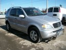 Used 2004 Mercedes-Benz ML-Class 3.7L classic for sale in Mississauga, ON