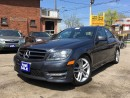 Used 2014 Mercedes-Benz C-Class Navi,Leather,Sunroof,HtdSeats,LaneAssist* for sale in York, ON