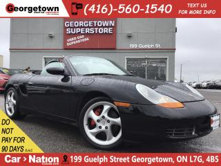 Used 2001 Porsche Boxster S | 6 SPEED | 3.2L | LEATHER | 18 WHEELS | MINT for sale in Georgetown, ON