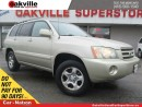 Used 2002 Toyota Highlander | EXPORT SPECIAL | YOU CERTIFY YOU SAVE | CLEAN | for sale in Oakville, ON