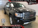 New 2017 GMC Canyon 4WD SLT-Heated Leather, Diesel, Android Auto/Apple Carplay for sale in Lethbridge, AB