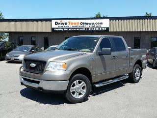 Used 2006 Ford F-150 XLT Crew Cab 4X4 for sale in Gloucester, ON