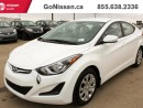 Used 2014 Hyundai Elantra LE Preferred Equipment Pkg for sale in Edmonton, AB
