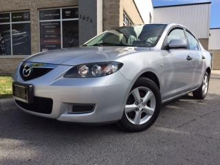 Used 2008 Mazda MAZDA3 GS - AUTO, POWER GROUP, ALLOYS, A/C! for sale in Orleans, ON